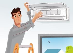 Ilmalämpöpumpun asennustyö - Vivax ilmalämpöpumpun asennuksen hinta